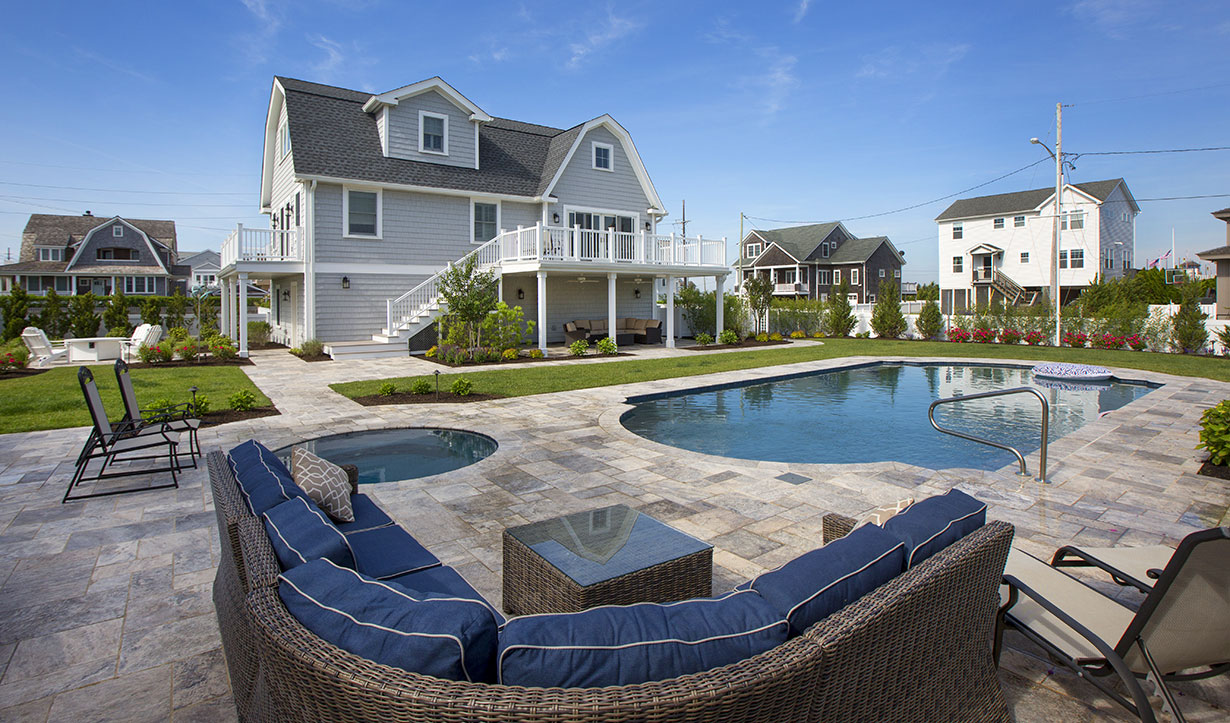 Guest House at the Beach: Winner, Contractor of the Year 2021 Central Jersey NARI