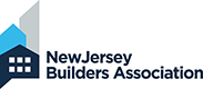 Logo of New Jersey Builders Association, a partner of building company Lasley Brahaney Architecture + Construction in Princeton, NJ