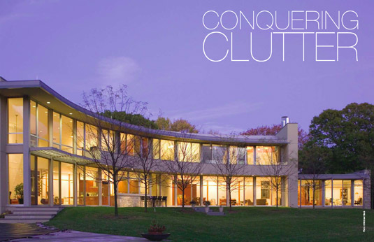 Superieur Modernist Architecture Cuts A Clean Silhouette Against The Princeton Horizon