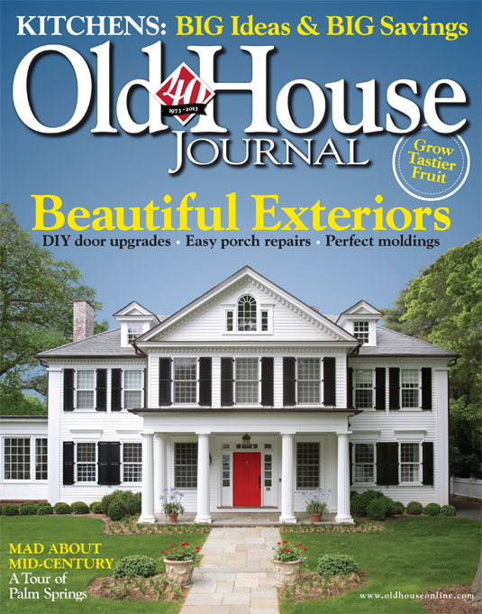 Lasley Brahaney Is Happy To Have Their Work Featured On The Cover Of Old  House Journal.