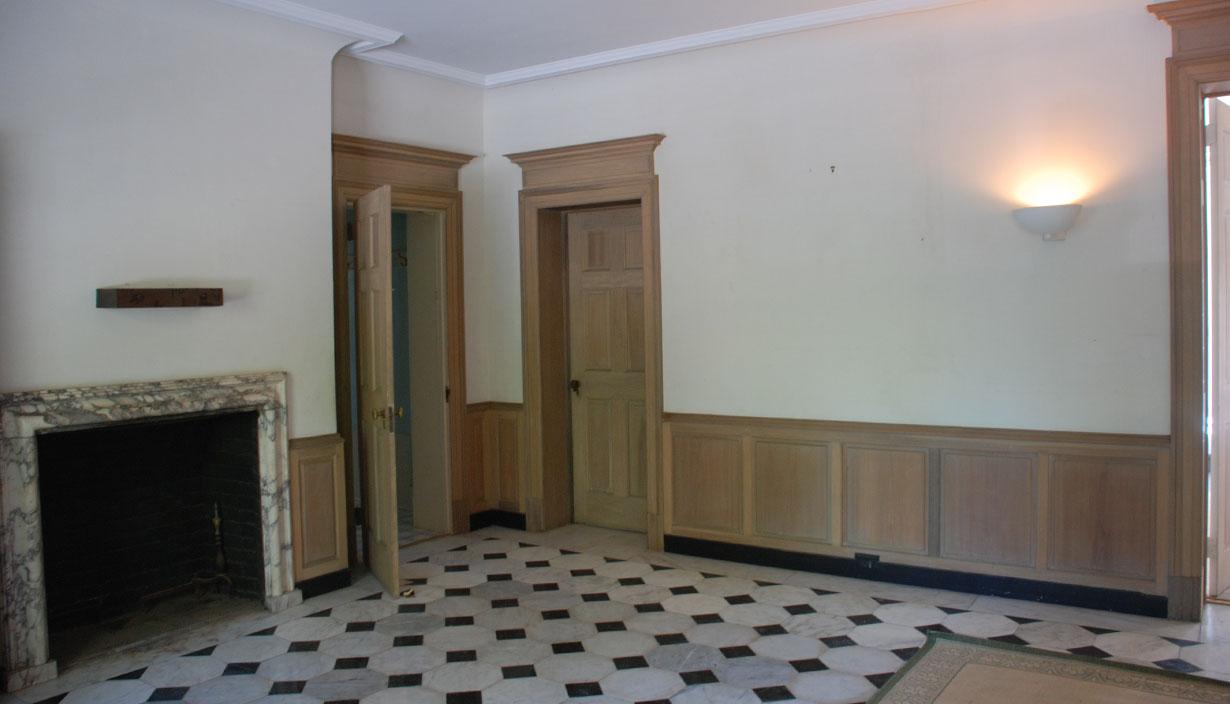 1906 Historic Renovation Interior 1 Before