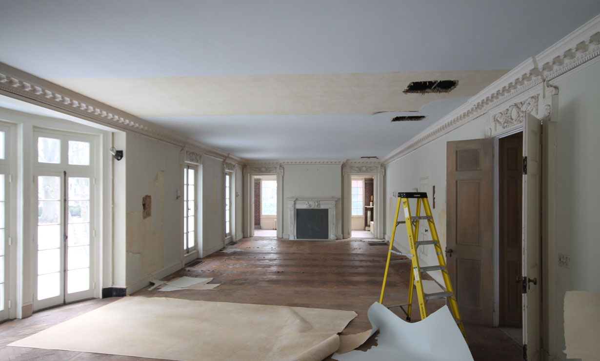 1906 Historic Renovation Interior 4 Before