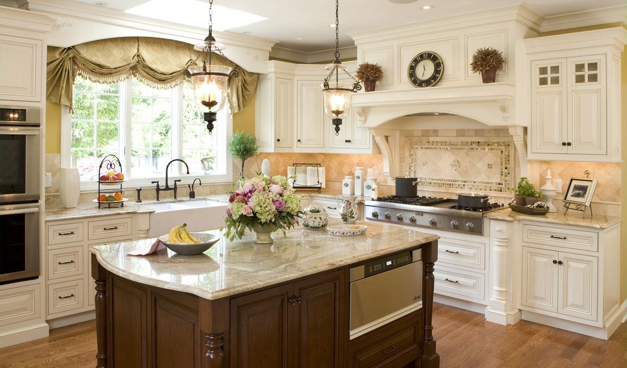 Skylight kitchen design by architect Lasley Brahaney Architecture + Construction in Princeton, NJ