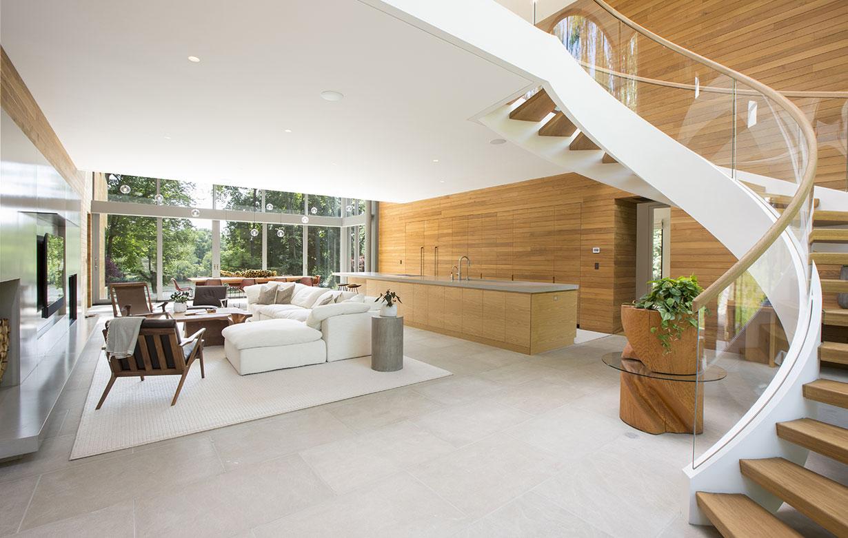 Modern Home on Lake Carnegie 3