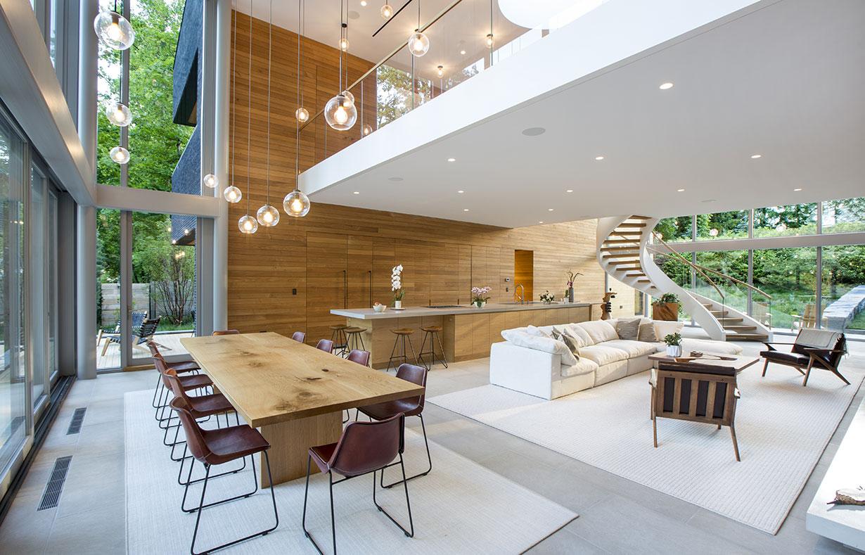 Modern Home on Lake Carnegie 7