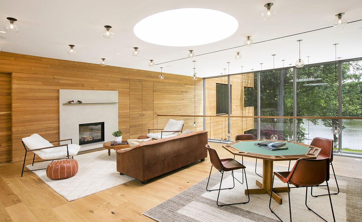 Modern Home on Lake Carnegie 9