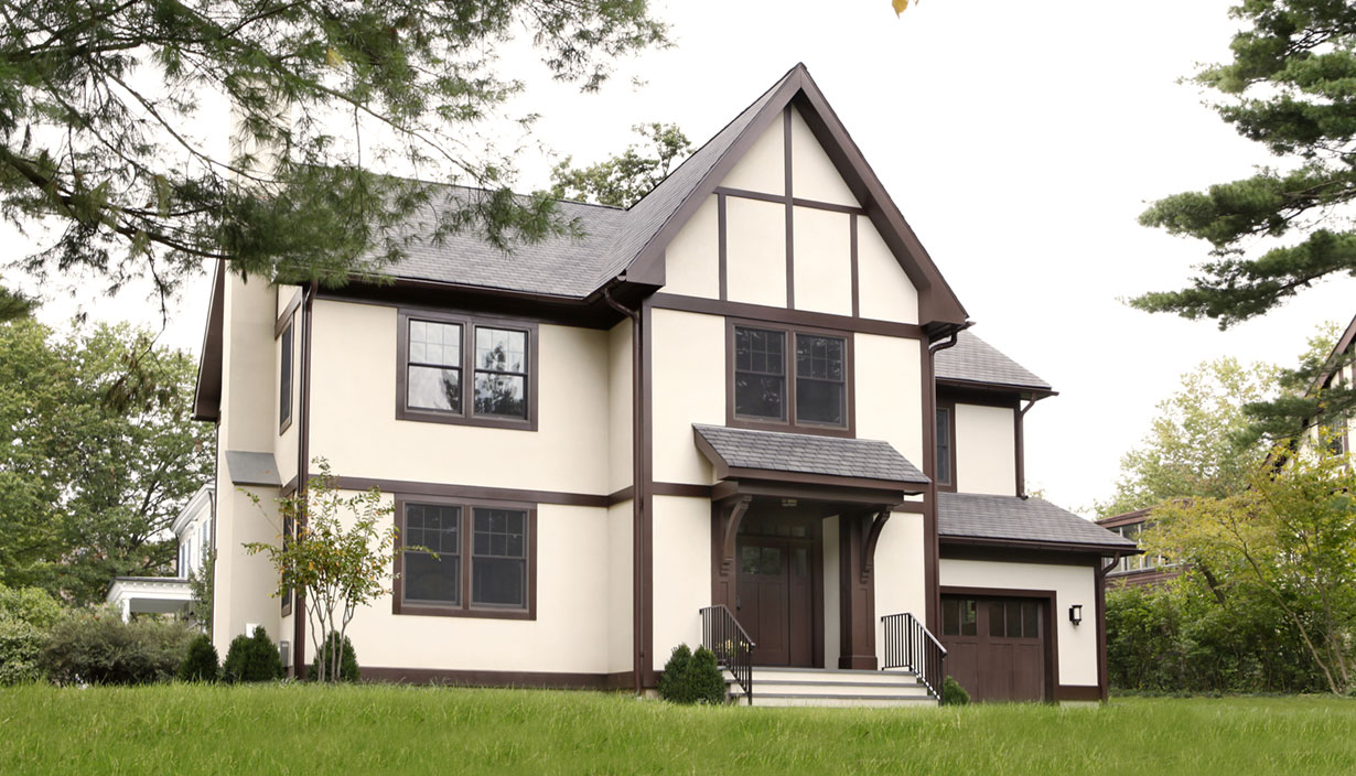 Tudor Style Home Lasley Brahaney Architecture Construction Princeton New Jersey