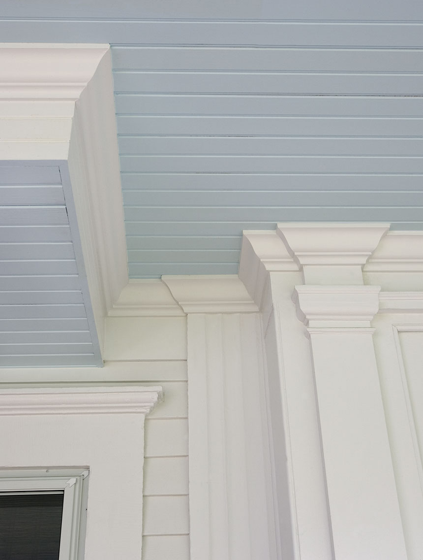 Detailed moldings